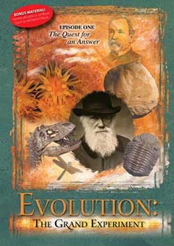 Evolution: The Grand Experiment DVD Episode One 9780892216970