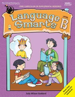 Language Smarts Level B for 1st Grade.