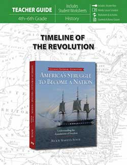 Timeline of the Revolution Teacher 9780890519110