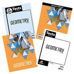 BJU Press Geometry Homeschool Kit