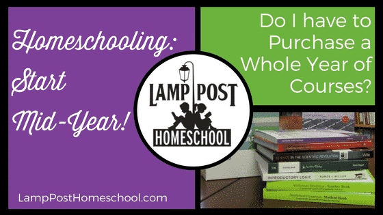 Start Homeschooling Half-Way Through the School Year?