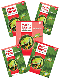 Math in Focus Singapore Approach K-8.