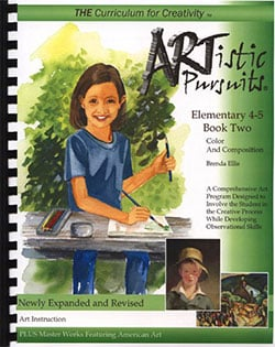 Artistic Pursuits Elementary School Book 1 Elements of Art and Composition by Brenda Ellis 9781939394040