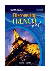 Discovering French Today! Online Premium Add-on Package 1.