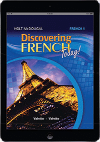 Discovering French Today Online Student 1.