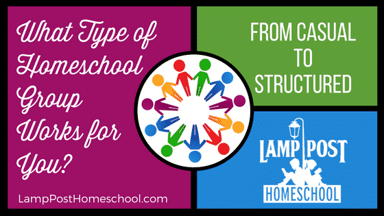 What Type of Homeschool Support Group Works for You?