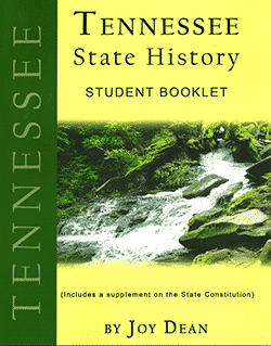Tennessee State History From A Christian Perspective Student