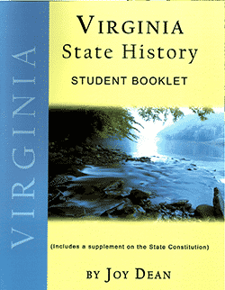 Go to Virginia State History From A Christian Perspective Student Booklet by Joy Dean