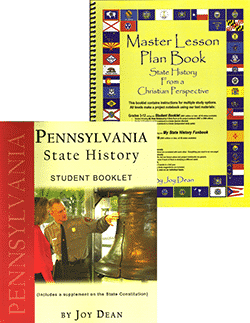 Pennsylvania State History From A Christian Perspective Set.
