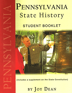 Pennsylvania State History From A Christian Perspective Set by Joy Dean, Publisher: A Helping Hand