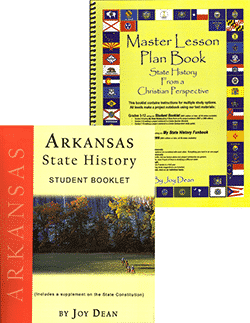 Arkansas State History From A Christian Perspective Set.
