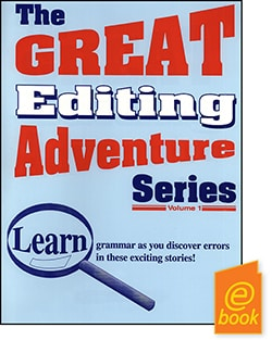 Go to Great Editing Adventures,  Publisher: Common Sense Press