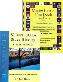 Minnesota State History From A Christian Perspective Set.