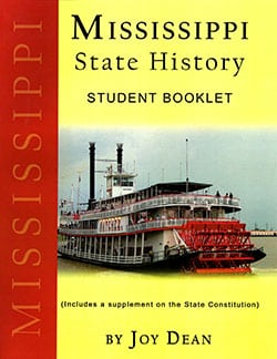 Mississippi State History From A Christian Perspective Student Booklet