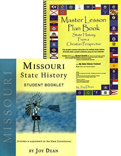 Go to Missouri State History From A Christian Perspective Set by Joy Dean, Publisher: A Helping Hand
