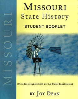 Go to Missouri State History From A Christian Perspective Student Booklet by Joy Dean