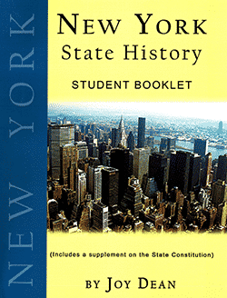 New York State History From A Christian Perspective Student