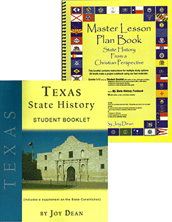 Texas State History From A Christian Perspective Set