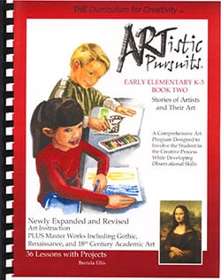 Artistic Pursuits Early Elementary Book 2 Stories of Artists and Their Art by Brenda Ellis 9781939394026