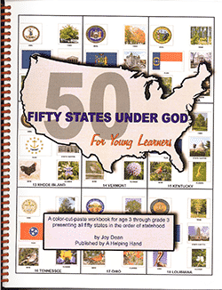 Fifty States Under God for Young Learners.