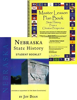 Nebraska State History From A Christian Perspective Set