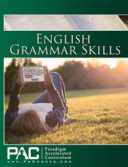 Go to Pac Works English Grammar Skills Full Course Kit by Paradigm Accelerated Curriculum