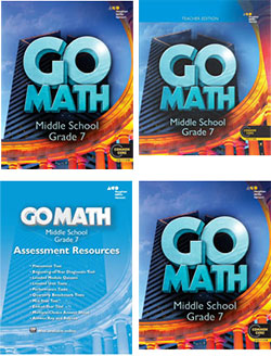 Go to Go Math! Grade 7 Accelerated Components
