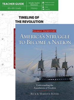 Timeline of the Revolution Set 9780890519417