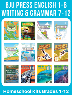 BJU Press English-Writing and Grammar Gr. 1-12