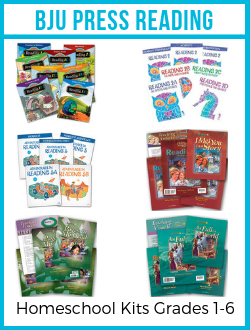 BJU Press Reading Kits.