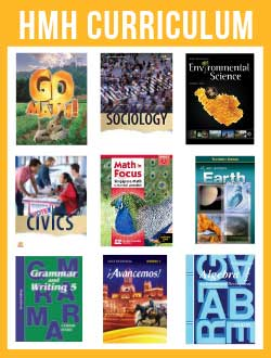 Houghton Mifflin Harcourt Homeschool Curriculum.