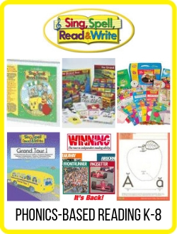 Sing Spell Read Write Kits