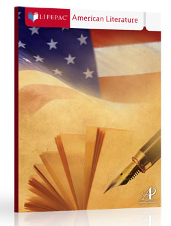 Lifepac American Literature Set.