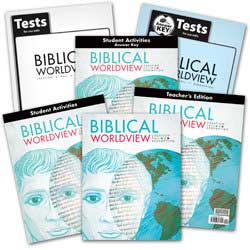 BJU Press Biblical Worldview ESV.