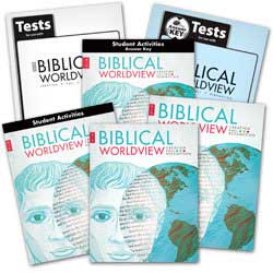 BJU Press Biblical Wordview Kit KJV.
