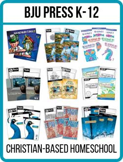 BJU Press Homeschool Kits K-12.