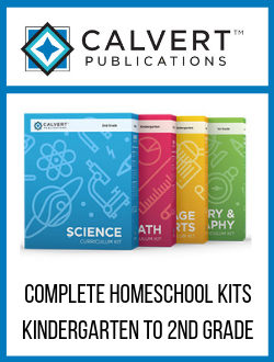 Calvert Complete Homeschool Kits K-2.