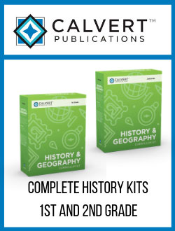 Calvert Complete History & Geography Kits.