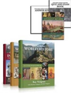 Exploring World History Kit with Student Review Pack.