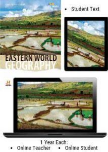HMH Eastern World Geography Homeschool Package.