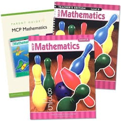 MCP Math Level B Homeschool Kit, 2005C Ed.