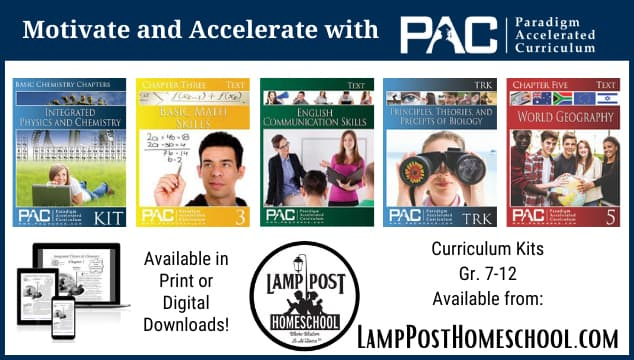 Motivate and accelerate with Paradigm Curriculum.