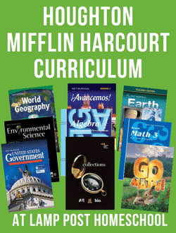 Go to  Houghton Mifflin Harcourt Homeschool Curriculum at LampPostHomeschool.com