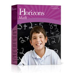 Horizons Math 1 Set 9780740303135 by Alpha Omega Publications