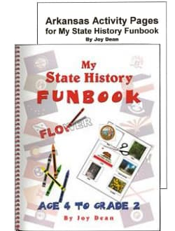 Arkansas My State History Funbook.