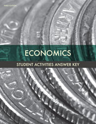 Economics Activity Manual Answer Key 3rd Ed. 9781606829578 by BJUPress
