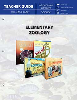 Elementary Zoology Teacher Guide 9781683440871