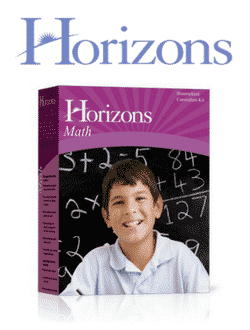 Go to Horizons Curriculum Grades K-8th by Alpha Omega Publications