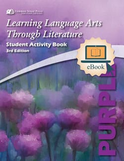 Go to The Purple Book Student Activity E-Book 3rd Edition, Learning Language Arts Through Literature Grade 5 ebook9781929683383 by Common Sense Press