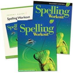 Go to Modern Curriculum Press Spelling Workout for Grades 1-8